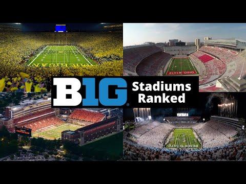 Big 10 Stadiums Ranked
