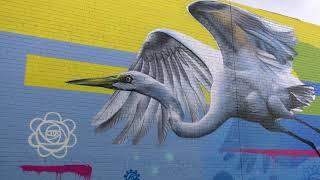 Frankston City - Digital Street Art Walking Tour - The Graceful Ascent