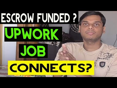 Escrow funded and connects explained | Escrow fund on pph, fiverr and upwork | Hindi