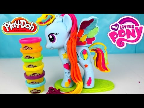 Plastilina Play Doh My Little Pony Rainbow Dash | MLP PLAY DOH