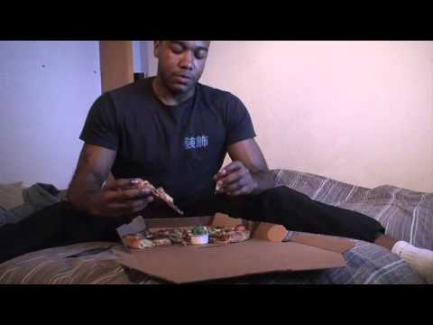 Eating 2 Large Dominos Pizzas 5400 Calories