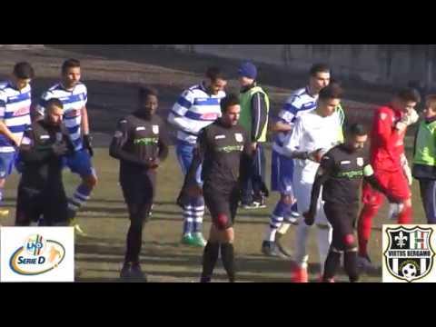 Aurora Pro Patria-Virtus Bergamo 1909 2-1, 1° giornata di ritorno Serie D Girone B 2016/2017