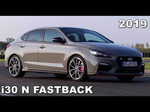 hyundai i30 fastback n 2019 driving exterior interior. Black Bedroom Furniture Sets. Home Design Ideas