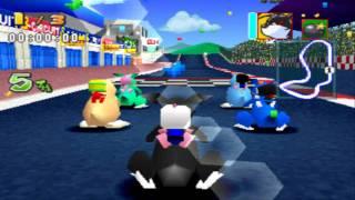 Bomberman Fantasy Race - Comprando a Black Louie