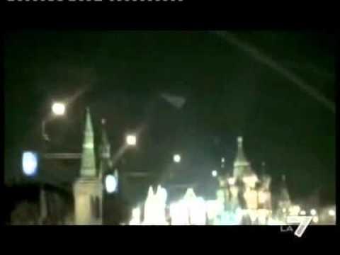 Servizio del Tg la7 sull'Ufo sopra il Cremlino