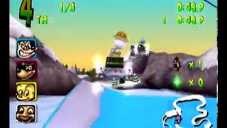 Walt Disney World Quest: Magical Racing Tour Dreamcast Intro + Gameplay