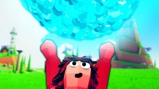 I Fight with *NEW* GOD POWERS and Make a SPIRIT BOMB! - (TABS) Totally Accurate Battle Simulator