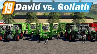 LS19 David vs  Goliath - KRONE Big X1100 gegen KRONE Big X580 | Farming Simulator 19