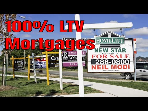 100% LTV mortgages: buy a house with NO deposit WHAT !!