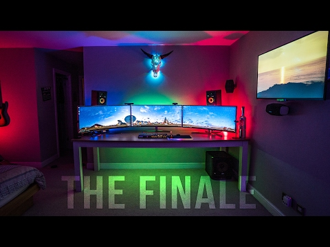 The ULTIMATE GAMING Setup: (part 4 - THE FINALE)