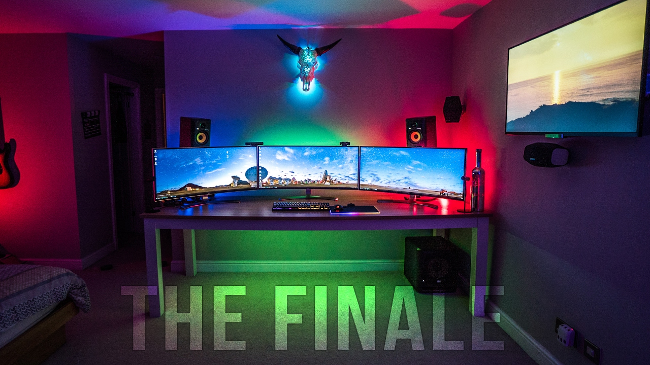 The Ultimate Gaming Setup Part 4 The Finale Youtube