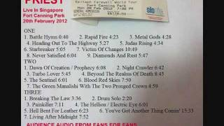 11 Night Crawler- Judas Priest Live Singapore 20Feb2012 ( Audience Bootleg )