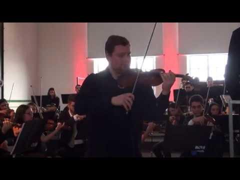 Ricardo Rupp Salavessa plays Tchaikovsky's Violin Concerto, 3rd Mvt., with the OSJ