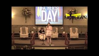 Fairlawn Church of God Father's Day Program