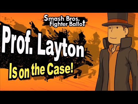 Super Smash Bros Wii U & 3DS: Professor Layton (Fan Made Trailer)