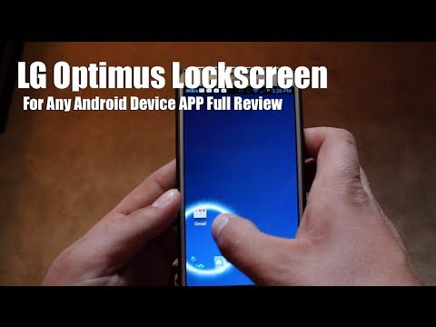 APP LG Optimus LockScreen For Any Android Device [FULL REVIEW]