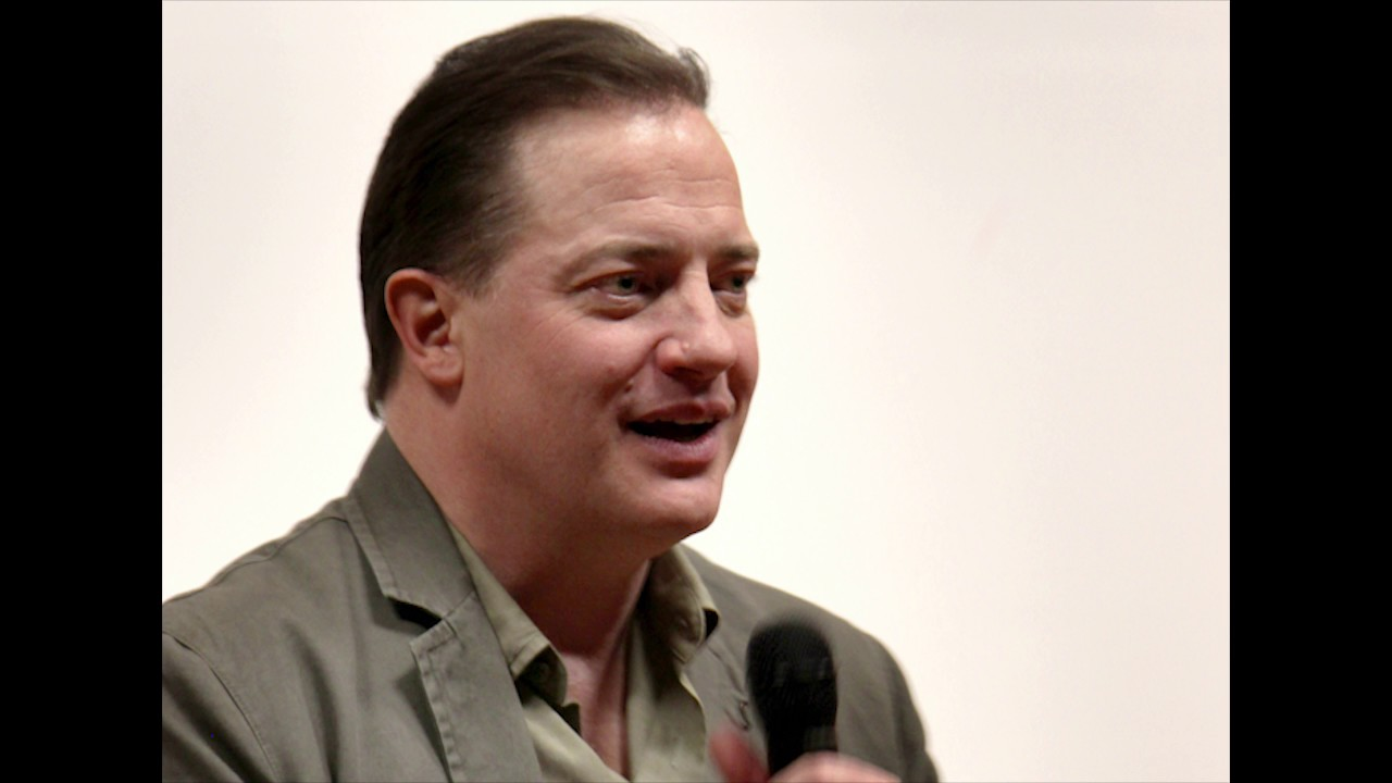 Brendan fraser las cruces international film festival 2017 - Brendan fraser bald ...