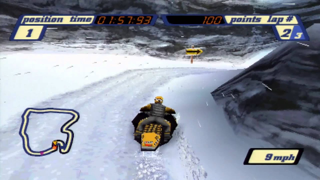 how to get a snowmobile in snow the game