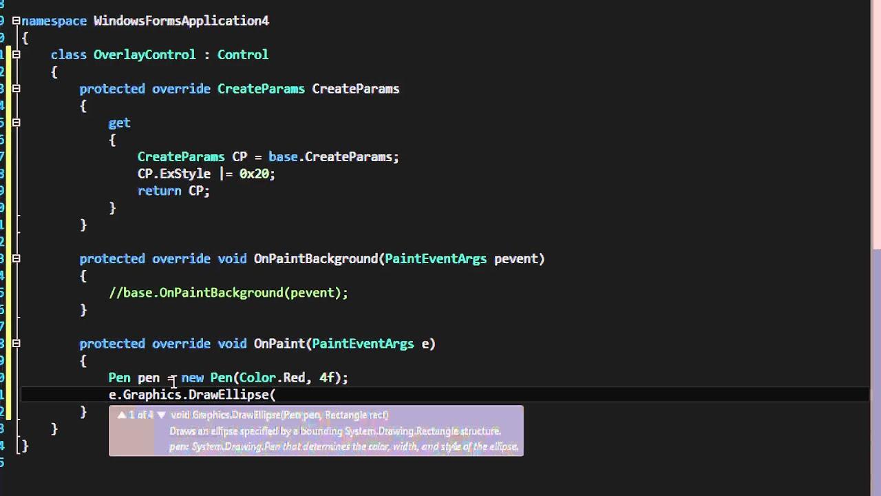 C sharp form background image - C Transparent Winforms Controls