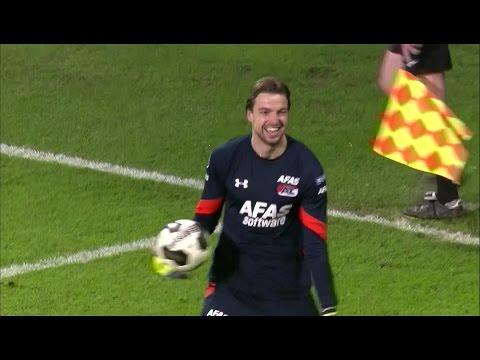 Tim Krul saves pen to send AZ to Dutch Cup final