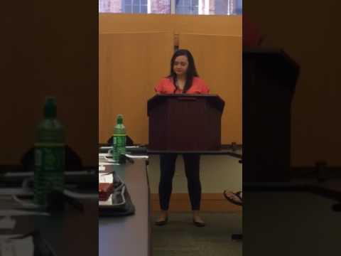Karen Zuccardi, NSA Scholarship 2017