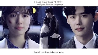 Gambar cover Eddy Kim (에디킴) - When Night falls (긴 밤이 오면) FMV (While You Were Sleeping OST Part1)[Eng Sub]