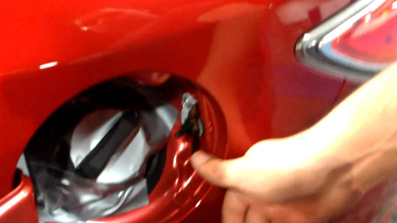 Mazda 6 Fuel Filler Cap Issues at the 2012 DC Auto Show - YouTube