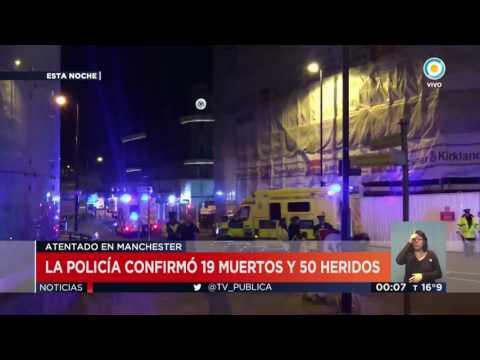 Atentado en Manchester: 22 muertos