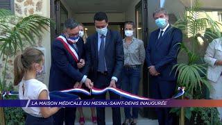 Yvelines | La maison médicale du Mesnil-Saint-Denis inaugurée