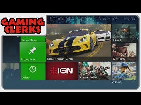 Xbox 360 Dashboard Update 2012 | Ausgepackt