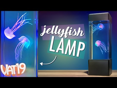 Jellyfish Lamp: Ocean ambience for your desk