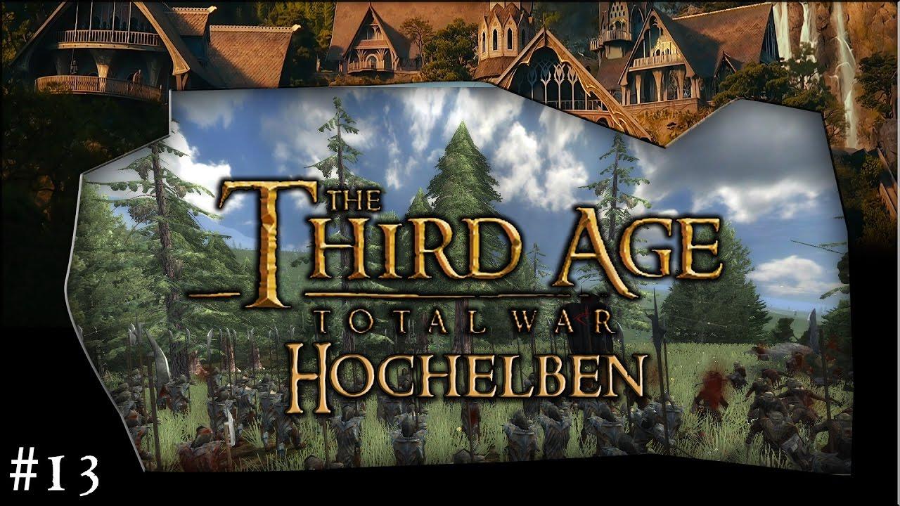 Third Age Total War (MOS) / Gepanzerte Hellebardenträger / Hochelben #013 /  Let's Play (Deutsch)