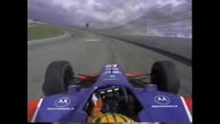 CART Fontana 2000 (Mark Blundell engine blow up)