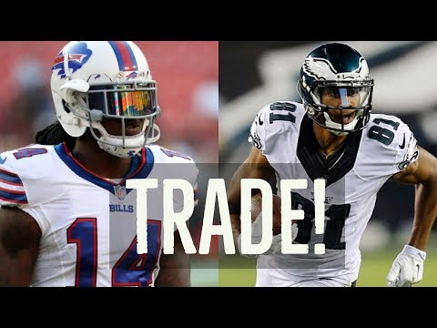 Buffalo Bills TRADE Sammy Watkins and Acquire Jordan Matthews! FULL TRADE ANALYSIS!