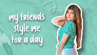 MY FRIENDS STYLE ME UP FOR A DAY FT DAMNFAM | Ashi Khanna
