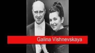 Galina Vishnevskaya: Mussorgsky - Songs and Dances of Death,