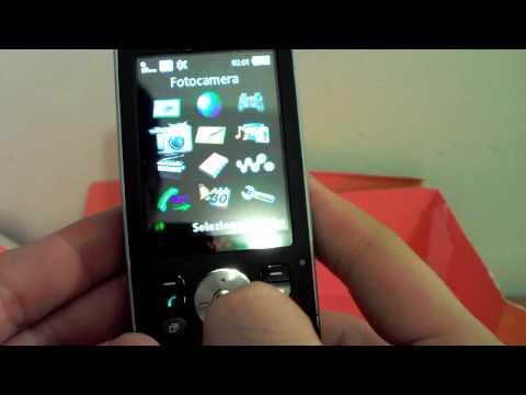 Sony-Ericsson W910i Walkman - High Definition Unboxing