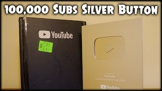 100,000 SUBSCRIBERS SILVER PLAY BUTTON Unboxing | Python Unboxes...