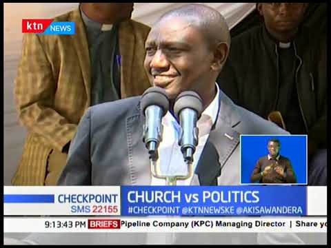 DP Ruto donates SH1 Million cash a day after Bishops banned cash donations in Subukia