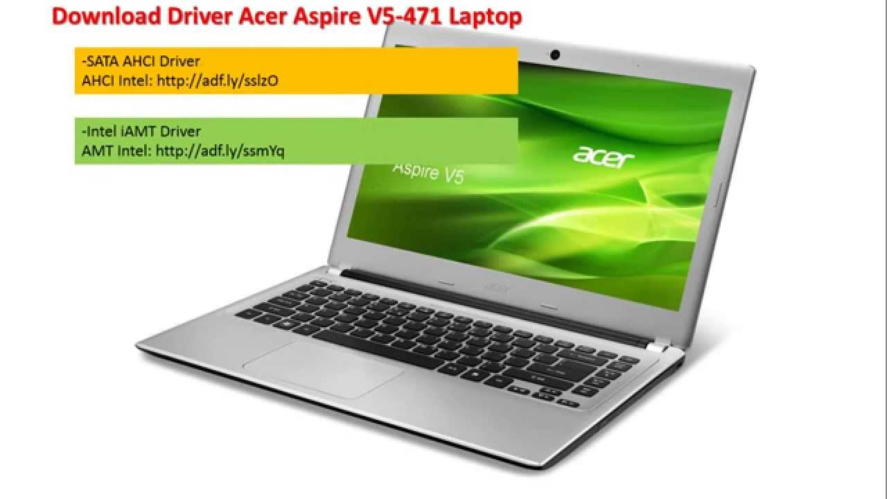 Acer Aspire V5-531 Intel SATA AHCI Windows Vista 32-BIT