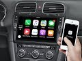 Apple CarPlay & Android Auto for Golf 6: Alpine i902D-G6