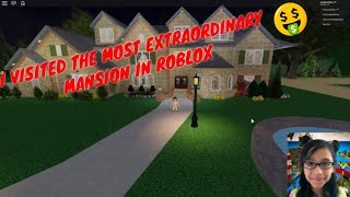 The Most EXTRAORDINARY MANSION In ROBLOX !!! TOUR
