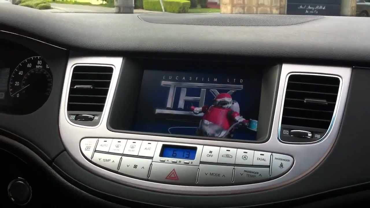 medium resolution of 2011 hyundai genesis vim dvd navigation in motion dvd nav tv
