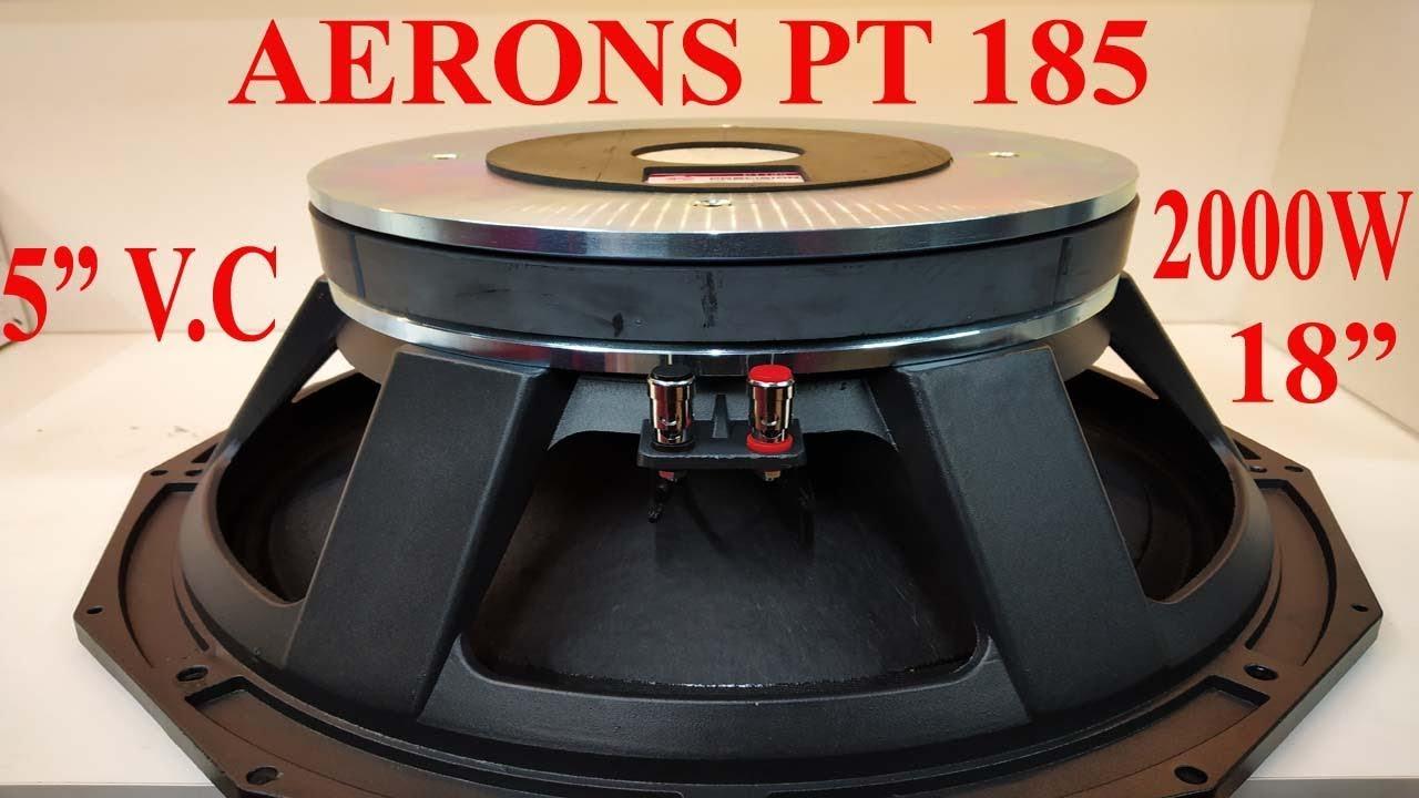 AERONS PT 185 || 2000 WATT SPEAKER by AERONS (INDIA) EXIM PRIVATE LIMITED