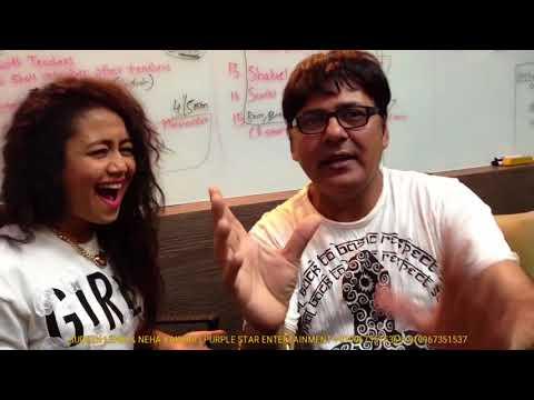 Sudesh Lehri interviewing #SelfieQueen Neha Kakkar 💖 Super Funny 🤣🤣