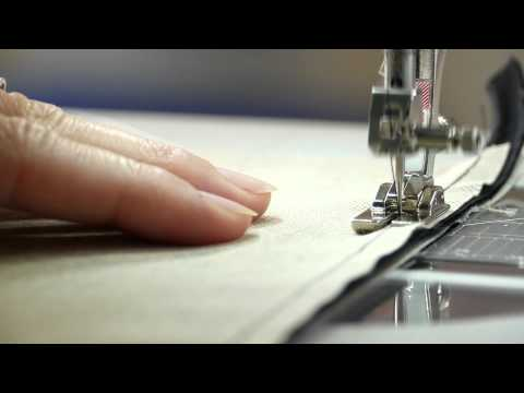 Tutorial: how to create piping and sew on ribbons with the BERNINA piping foot no. 38