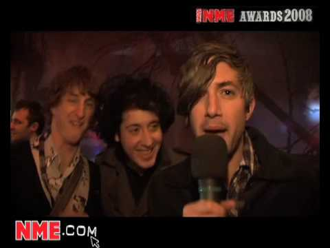 NME Video: We Are Scientists at the NME Awards 2008 - Part 1
