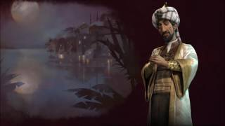 Civ 6 Arabia Saladin theme music FULL