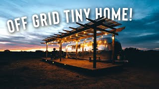 Off Grid Desert Airstream Tour! | Full Airbnb Tiny Home!