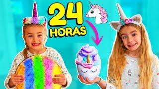 24 horas comiendo unicornio comida colores Las Ratitas SaneuB